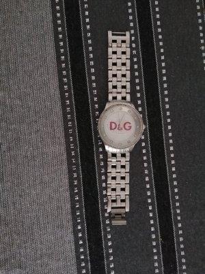 Dolce & Gabbana Montre analogue argenté