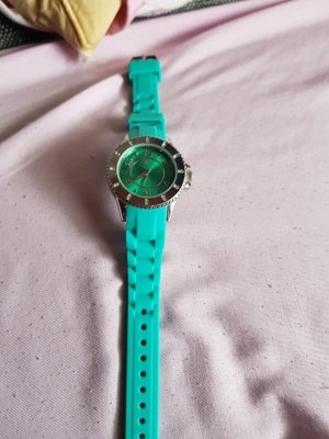 Damen Armbanduhr grün