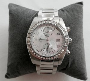 LRJoyce Reloj con pulsera metálica color plata