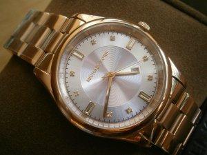 Damen-Armbanduhr Michael Kors MK6369, rose gold, Lila