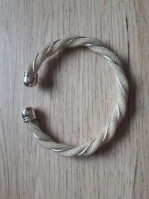Bangle silver-colored metal