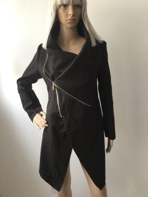 Damen Asymmetrische Trenchcoat von Boohoo Gr.S