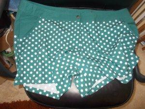 Shorts de bain bleu cadet-blanc