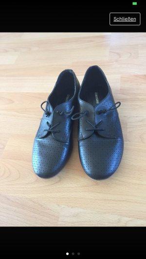 Graceland Lakleren ballerina's zwart