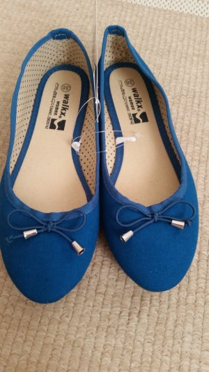Adler Strappy Ballerinas blue