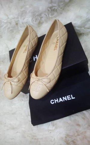 Chanel Ballerina's met bandjes room