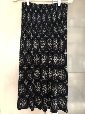 Damen Bandeau Kleid Strandkleid Gr S von Lascana schwarz gemustert Neu