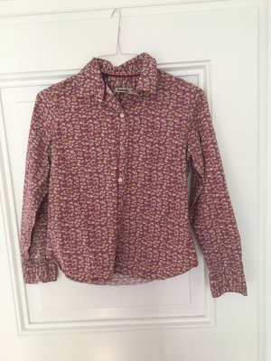 Barbour Blouse Collar grey lilac-green