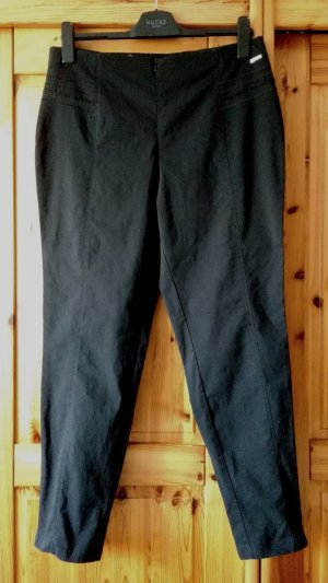 Steilmann Stretch Trousers black mixture fibre