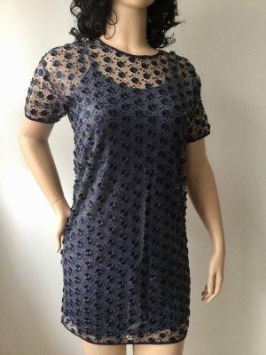 Damen Besticktes Mini-Kleid Cocktailkleid von Michael Kors Gr.M