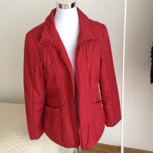 Damen Betty Barclay Outdoor Jacke Steppjacke Rot Dunkelrot Gr. 38 Mantel