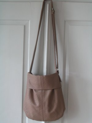 Zwei Pouch Bag sand brown imitation leather