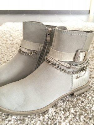detailed look d3d6a 36236 Marco Tozzi Boots silver-colored synthetic