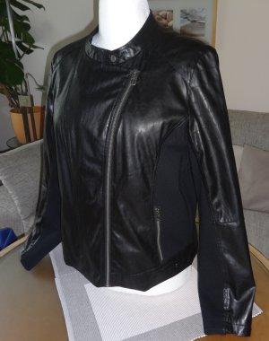 Damen Bikerjacke von Cecil in schwarz Gr. XL
