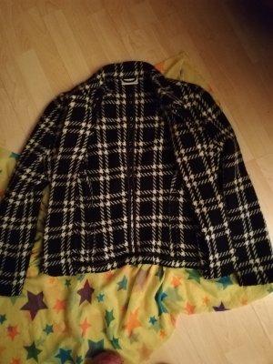 10 Dence Blazer in lana bianco-nero