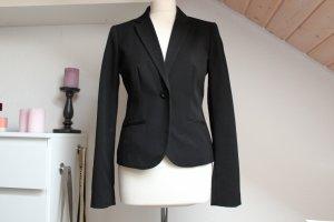 Damen Blazer Clockhouse Größe 38 S Business Jacke schwarz Büro Schulterpolster