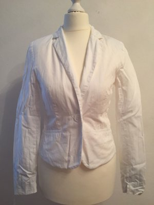 Tally Weijl Wool Blazer white