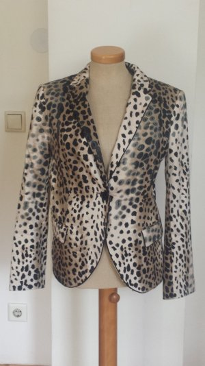 Damen Blazer im Animalprint