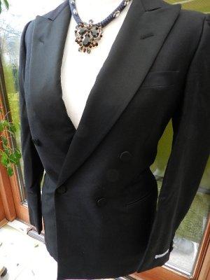 Damen Blazer/Jacke - Made in Italy dopelreihiger Blazer- Mohair Gr.36 tailliert
