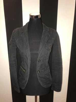 Denim Blazer anthracite
