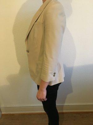 Damen Blazer S ZARA hellbeige Dreiviertel arm top Zustand
