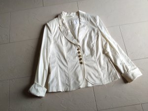 Airfield Jersey Blazer cream cotton