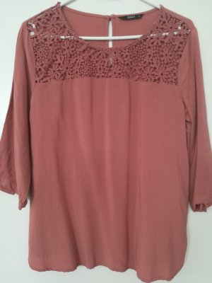 Be only Blusa in merletto albicocca