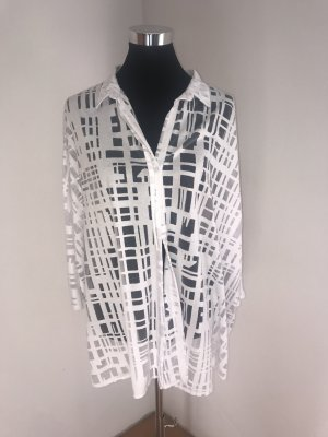 Alba Moda Long Sleeve Blouse white