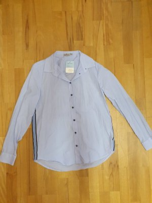 Blue Motion Shirt Blouse light blue