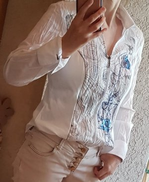 Biba Blusa Crash bianco