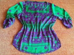 Damen Bluse Casual Design Gr.M in Bunt von Zara Basic NW