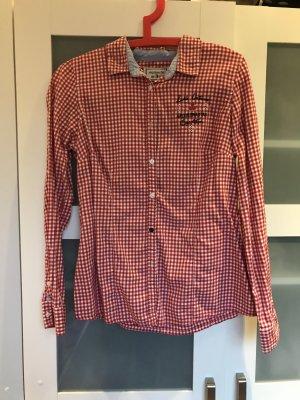 Arqueonautas Camicia blusa bianco-rosso