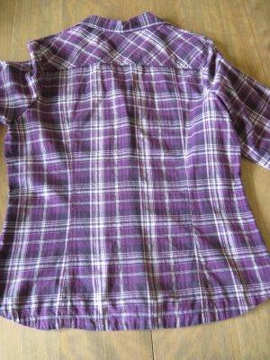 Damen Bluse / Damenbluse, lila + Lyrex, Gr. 40