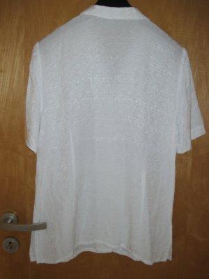 Damen Bluse  / Damenbluse / Longbluse, Gr. 38, weiß