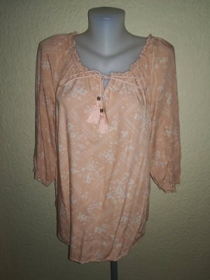 Damen Bluse hell orange
