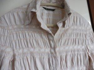 Damen Bluse  Hemd creme  Größe 36