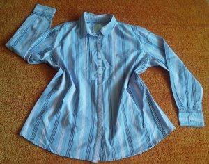 Damen Bluse Hemd gestreift Gr.46 in Bunt von Basefield Woman