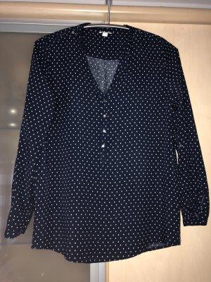 Damen Bluse Hemd von Esprit Gr 36 Blau Weiss wie Neu