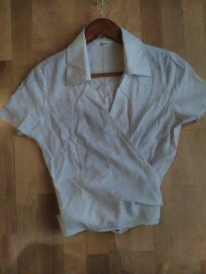 Blusa-camisa blanco rayón