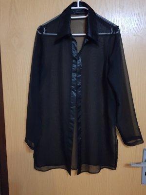 Damen bluse jacke  durchsichtig