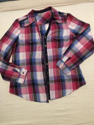 Damen Bluse Karo Hemd