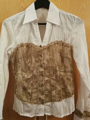 Damen Bluse mit Stickerei