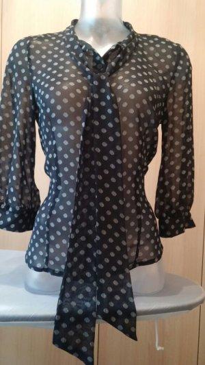 Damen Bluse modern leiht Gepunktet Gr. 36 von H&M