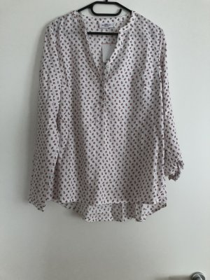 Slip-over blouse wit-wolwit