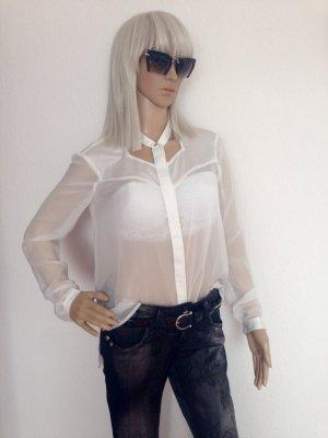 Finders Keepers Blusa trasparente crema
