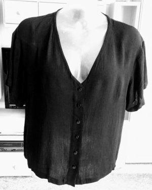 Damen Bluse Sommer leicht Gr.XL in Schwarz von Campus