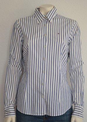 #Damen #Bluse #Tommy #Hilfiger #Blau #Weiß #Größe #38