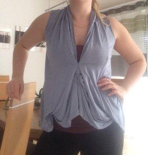 Damen Bluse Überzieher top