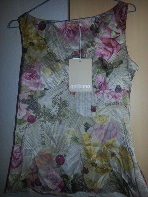 Damen bluse  von GALLIANO  NEU mit etikett It Gr.40 Mehrfarbig