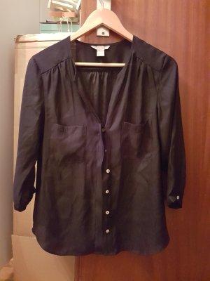 Damen Bluse von H&M in Schwarz